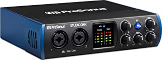 Presonus Studio 24 C - Interfaz de audio USB-C a 24-bit / 192 kHz