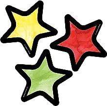 Carson Dellosa – Stars Colorful Cut-Outs, Classroom Décor, 32 Pieces