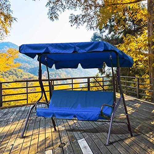 Viner Swing Cover Garden Cover Waterdicht UV-bestendig Stoel Schaduw Stofzeil Buiten Binnenplaats Hangmat Tent Swing Top Cover, Blauw