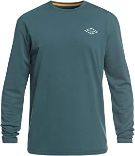 Quiksilver Mens Gut Check Ls UPF 30 Surf Tee
