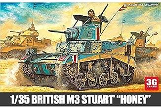 Academy US tank model 13270 M3 Stuart light tank containing internal structure by Academy Models