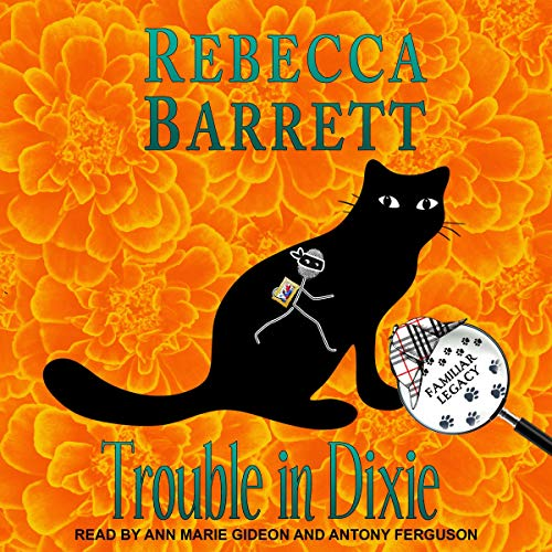 Trouble in Dixie audiobook cover art