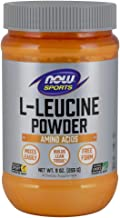 NOW Sports Nutrition, L-Leucine Powder, Builds Lean Tissue*, Amino Acids, 9-Ounce