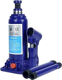 3 Ton Hydraulic Bottle Jack With Safety Valve Blue Car Jack - 3 Ton Capacity/ZBN