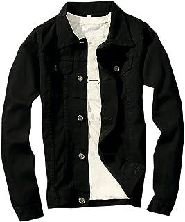Sawadikaa Mens Vintage Denim Vest Jean Jacket Waistcoat Cowboy Jacket Outerwear 811 Large