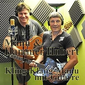 Kling Klang Manu mit Gitarre