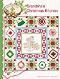 Grandma's Christmas Kitchen Embroidery Pattern by Meg Hawkey From Crabapple Hill Studio #442 - 45.5' x 45.5'