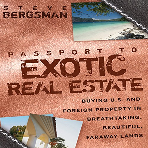 Passport to Exotic Real Estate audiobook cover art
