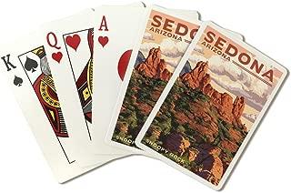 Sedona, Arizona - Snoopy Rock (Playing Card Deck - 52 Card Poker Size with Jokers)