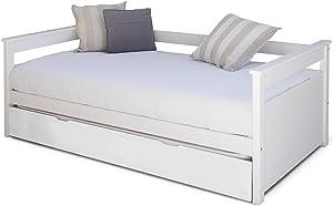 Générique Letto estraibile, dimensioni: 90 x 190 cm bianco