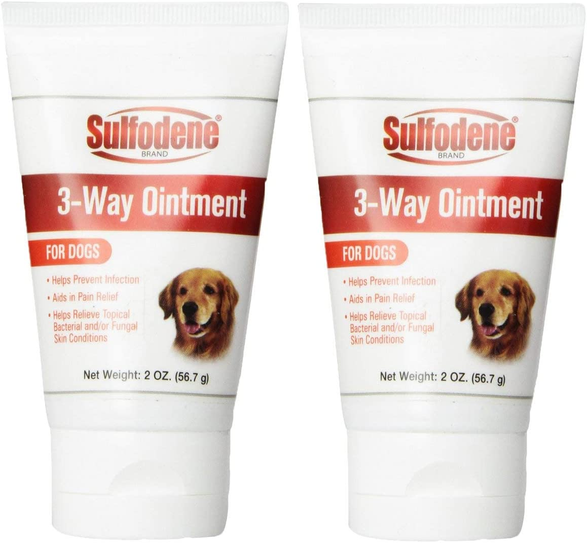 Sulfodene 3-Way Ointment for Max 55% OFF 2-Pack OFFicial mail order 4oz Dogs