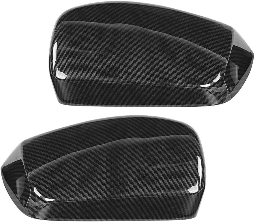 【2 Pcs】Carbon Fiber Rearview Rearvi Mirror Max 87% OFF Shell Car Sale Special Price