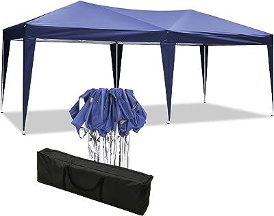 YUEBO Cenador Plegable Carpa 3x6 m Carpas Plegables con Paredes Popup Gazebo Plegable Pergola Carpa Impermeable Carpas para Fiestas: Amazon.es: Jardín