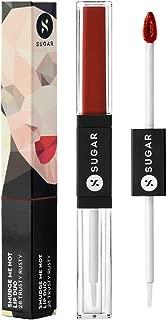 SUGAR Cosmetics Smudge Me Not Lip Duo - 28 Trusty Rusty (Rust Red)