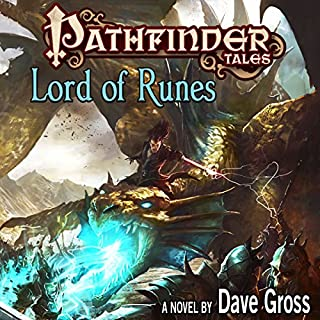 Pathfinder Tales: Lord of Runes audiobook cover art