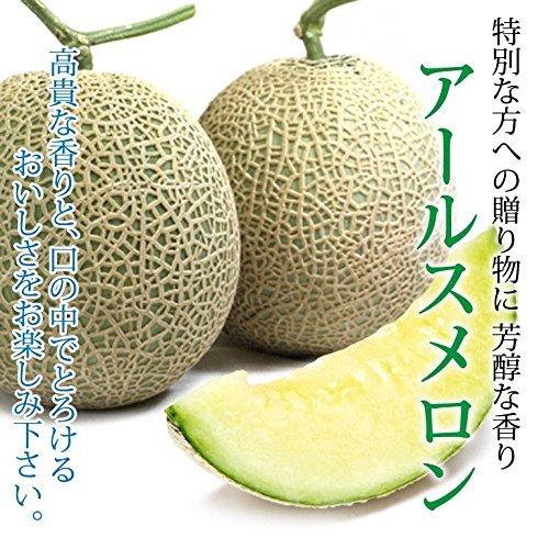 """""""厳選産地"""" メロンの王様 アールスメロン 秀品 6玉入"""