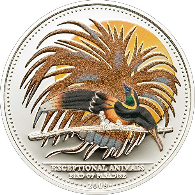cómodamente Power Coin Bird of Paradise CMA Pajaro Paraiso Exceptional Exceptional Exceptional Animals Moneda Plata 5  Palau 2009  tienda de bajo costo