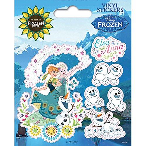 Pyramid International la Reine des neiges Fever Stickers muraux en Vinyle, Papier, Multicolore, 10 x 12.5 x 1.3 cm