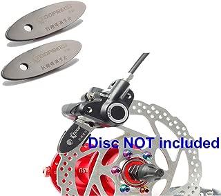 ONGHSD Bicycle Brake Pad Alignment Tool, 2PCS MTB Disc Brake Pad Adjusting Tool Bike Brake Rotor Pads Mounting Assistant Tools Adjust Spacer Mountain Bike Disk Repair Tool Cycling Accessories