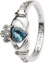 december claddagh ring