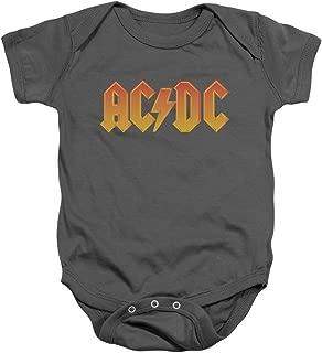 ACDC Logo Baby Onesie