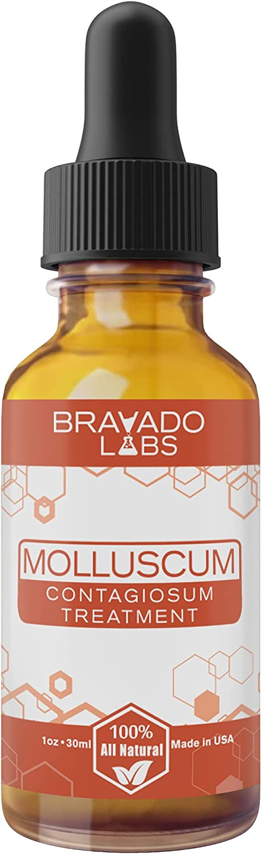 Premium Molluscum OFFer Contagiosum Treatment - Labs Bravado Finally popular brand Best fo