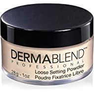 Dermablend Setting Powder, Loose Powder for Finishing and Setting Makeup, Mattifying Finish and...