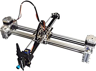 Robot House Acrylic DIY Drawing Robot Kit Writer XY Plotter iDraw Hand Writing Robot Kit Based on 3D Printer Corexy or Hbot Structure support Laser Engraver