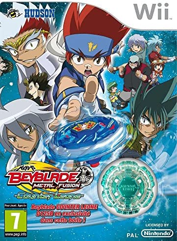 Third Party Beyblade metal fusion counter Leone Occasion Nintendo WII 4012927093771 product image