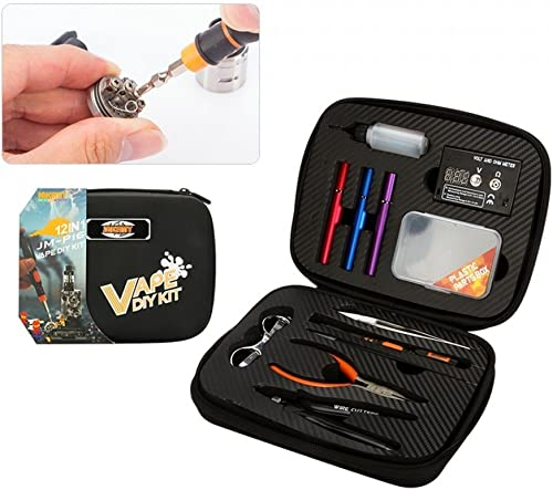 alta calidad Ensemble d'outils 12 en 1 1 1 pour réparation bricolage Cigarette électronique  la mejor oferta de tienda online