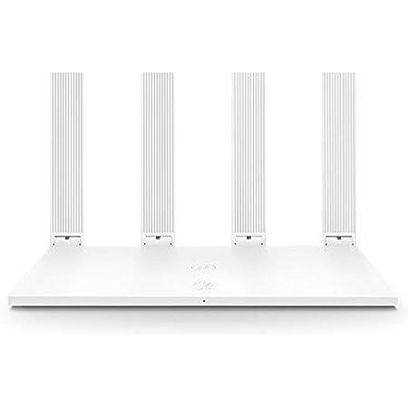 HUAWEI Wi-Fi WS5200 AC1200 - Router inalámbrico Gigabit, Dual-Band, 4 Puertos Ethernet, Router WiFi Inteligente de Largo Alcance, MU-MIMO, procesador de 28nm, fácil de configurar, Blanco