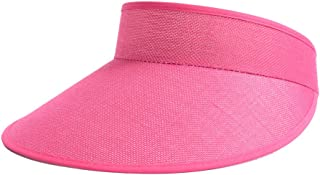 DUOLUO 日焼け防止シルクハット新しいリネン抗UV帽子夏の屋外のカジュアルな男性と女性のカップルの日帽子