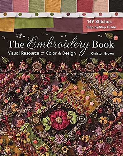 The Embroidery Book: Visual Resource of Color & Design (English Edition)