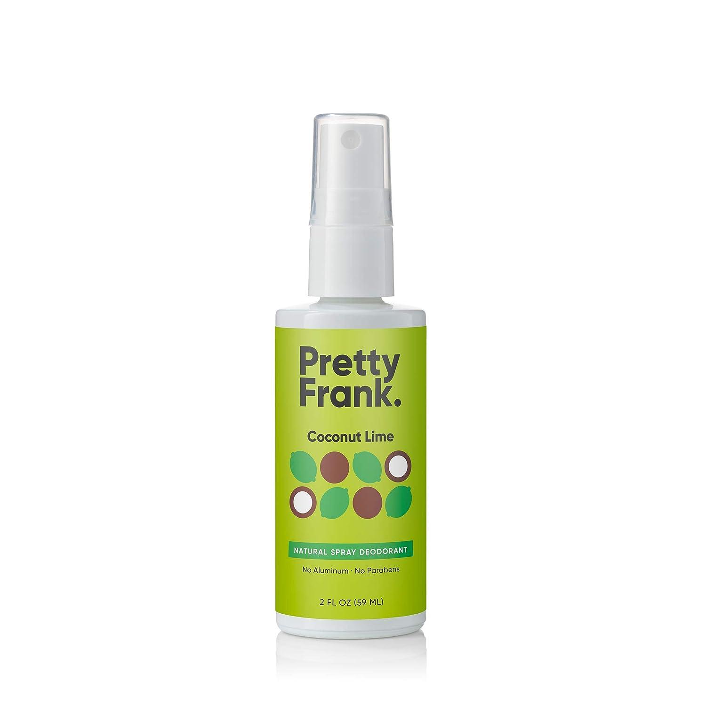 Pretty Frank Time Special price sale Natural Deodorant Spray Witch Coconut with - Hazel