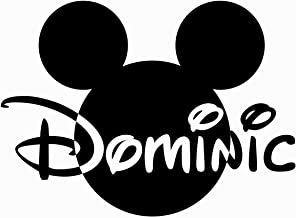 mickey ears with name