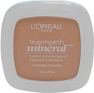 Loreal True Match Mineral Instant Shine Eraser Powder W4-5/412 Sand Beige 9g