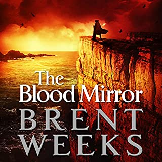 The Blood Mirror     The Lightbringer Series, Book 4              By:                                                                                                                                 Brent Weeks                               Narrated by:                                                                                                                                 Simon Vance                      Length: 20 hrs and 30 mins     810 ratings     Overall 4.7