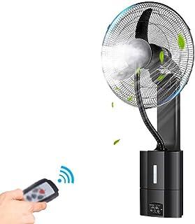 SLRMKK Ventilador de Aire Acondicionado de Verano Ventilador eléctrico Grande Ventilador de Pared - Control Remoto Ventilador con Cabezal móvil Restaurante Industrial Ventilador Ventilador de enfriam