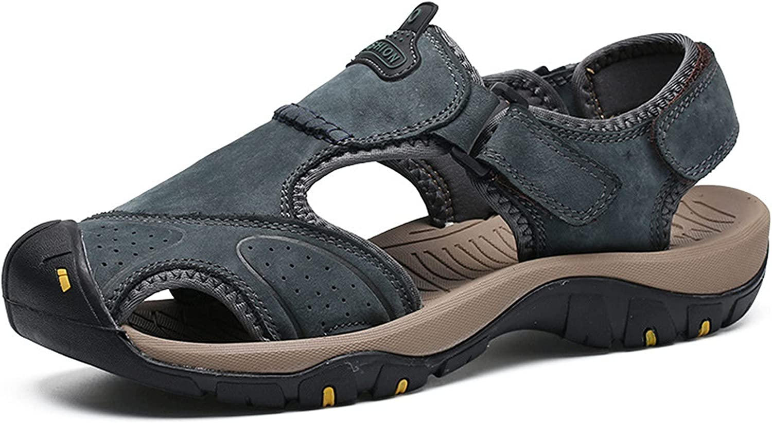 Men's Tucson Mall Sport Sandals Outdoor Hiking Toe Leather Closed At Ranking TOP1
