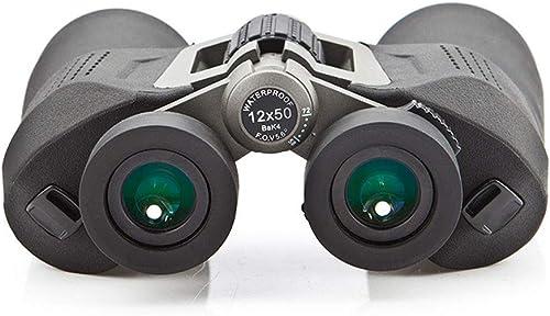 Jumelles Wolf 2D 12X50 Haute définition Ligne de Vision extérieure étanche à la lumière réduite