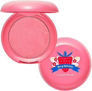 ETUDE HOUSE Berry Delicious Cream Blusher 6g (#2 Full Of Cream) - Moist Cream Cheek for a Lovely Look, Daily Natural Color