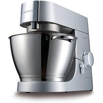Kenwood KMC050 Batidora Amasadora, 1400 W, 4.6 litros, Acero inoxidable, Plateado: Amazon.es: Hogar