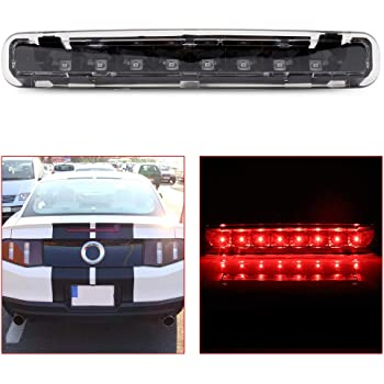 Electroplating Housing Clear Lens For 1997-2003 Ford F-150 LED Rear High Mount 3rd Third Brake Cargo Light