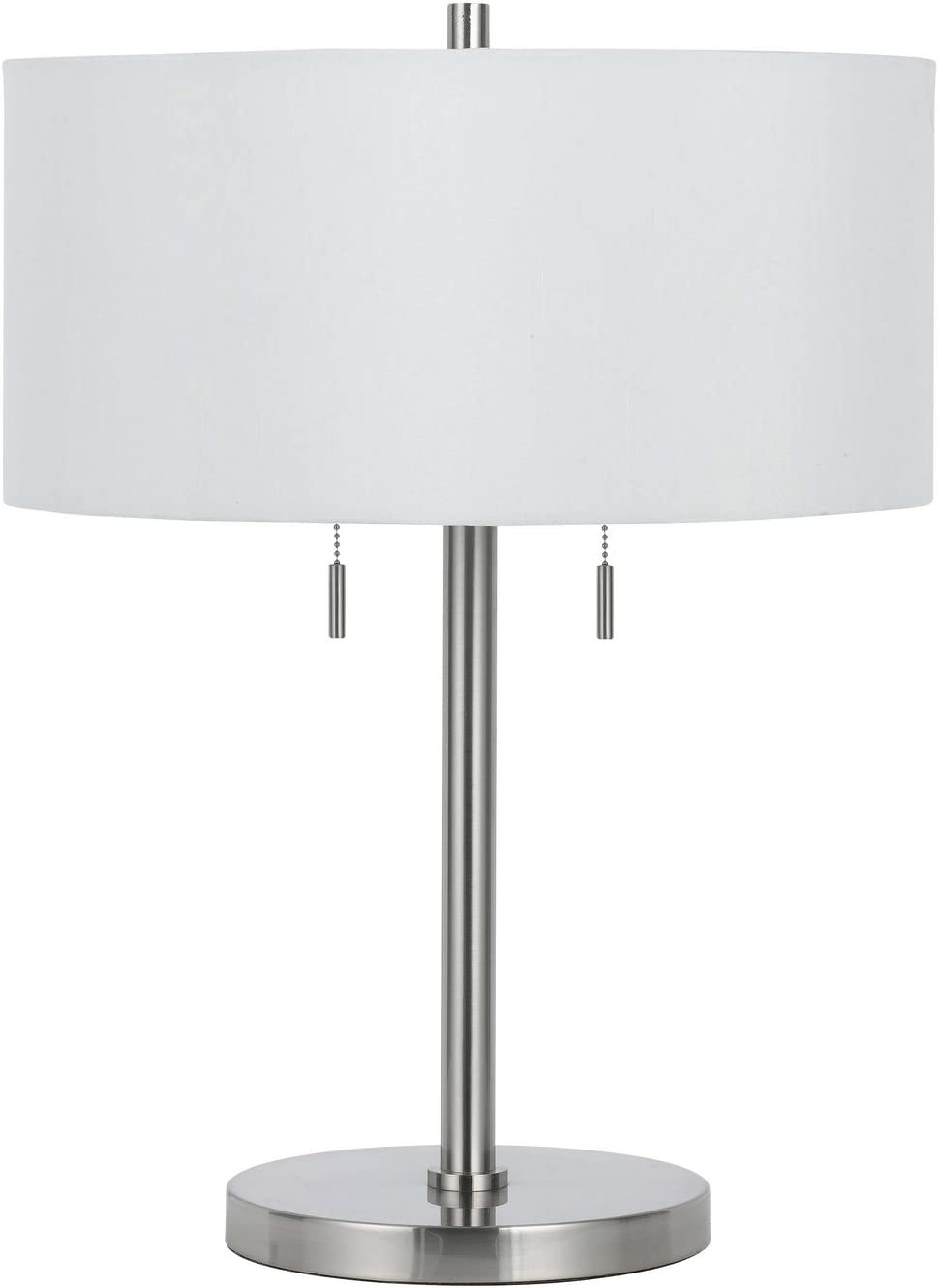 Cal Lighting BO-2450TB-BS Transitional Two Seasonal Wrap Introduction A Lamp Table Max 85% OFF
