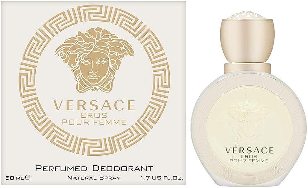 Gianni versace,versace eros, per donna, profumo deodorante naturale, spray, 50 ml 59082477-1