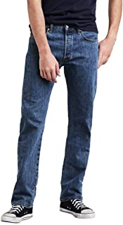 Levi's Men's 501 Original Fit Regular Design Comfortable Denim Jeans
