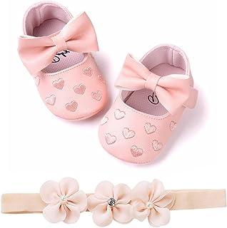 Fossen Zapatos de Bebe Fossen Recién Nacido Niñas Piel