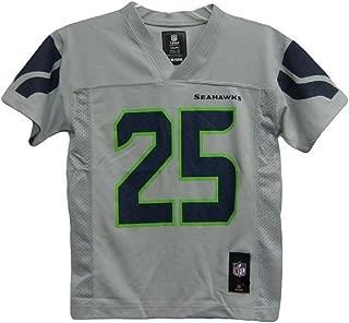 Richard Sherman Seattle Seahawks Gray Alternate NFL Youth 2014-15 Season Mid-tier Jersey (Small 8)