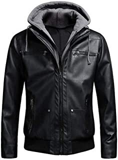 Men Motorcycle Leather Jackets