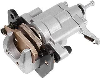 Rear Brake Caliper For Yamaha UTV Rhino 660 YXR660 450 660 ATV 400 500 700,Bennche Bighorn Excalibur,HiSUN,Coleman,Massimo Alligator,Menards Yardsport,Qlink FrontRunner,Supermach With Pads
